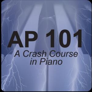 AP 101: A Crash Course in Piano USB Course Set (Includes Online Access)