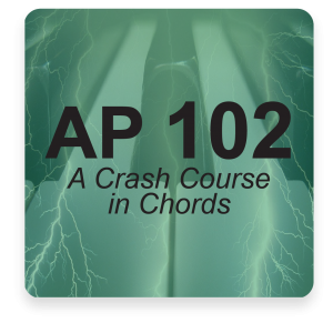AP 102: A Crash Course in Chords DVD Course Set (Includes Online Access)