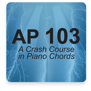 AP 103: Advanced Piano Chords USB Course Set (Includes Online Access)