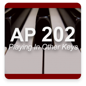 AP 202: Mastering Playing In All 12 Keys USB Course Set (Includes Online Access)