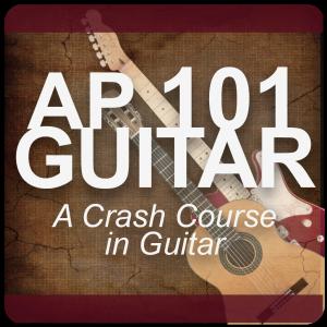 AP 101 GUITAR: A Crash Course in Guitar USB Course Set (Includes Online Access)