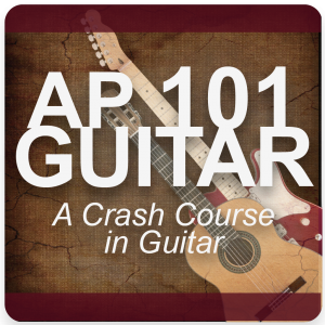 AP 101 GUITAR: A Crash Course in Guitar DVD Course Set (Includes Online Access)